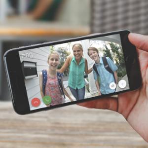 Ring Video Doorbell 2 - Quick Release Rechargable Battery Powered WiFi Doorbell Security Camera