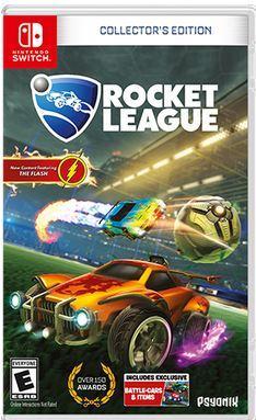 Amazon.com: Rocket League: Collector's Edition - Nintendo