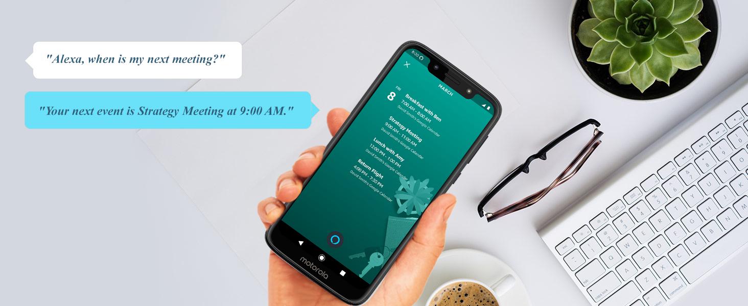 Moto G7 Play with Alexa