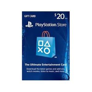 PlayStation Network Card - $20 Gift Card Edition: Playstation ...