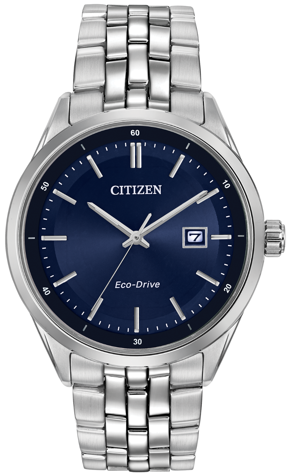 Citizen Eco Drive Men S Stainless Steel Corso Watch