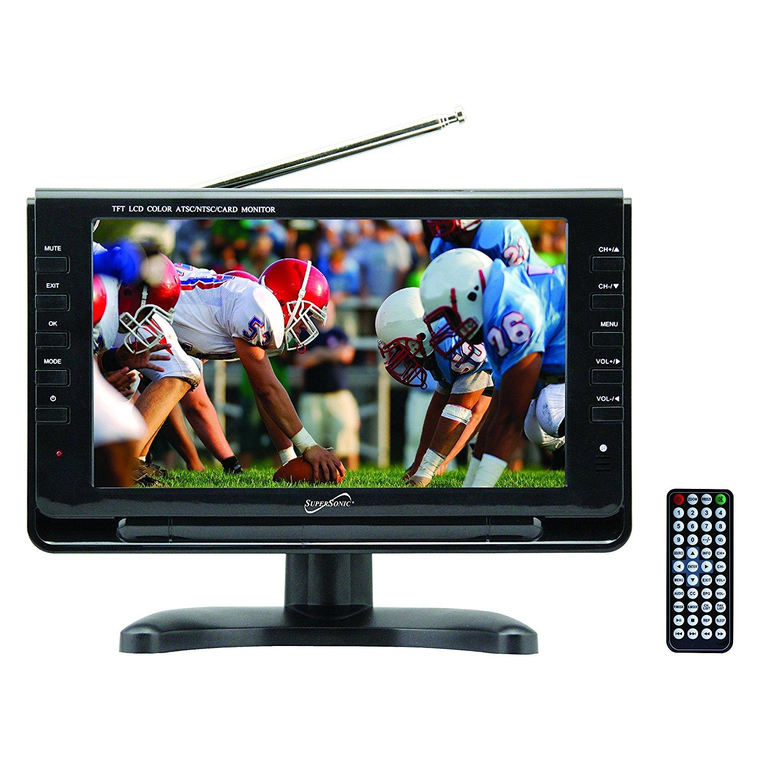 supersonic portable widescreen lcd display with
