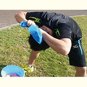 暑さ対策 高吸水 吸水 熱中症 熱中症対策 頭