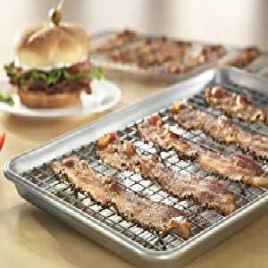 bacon on sheet pan and baking rack set