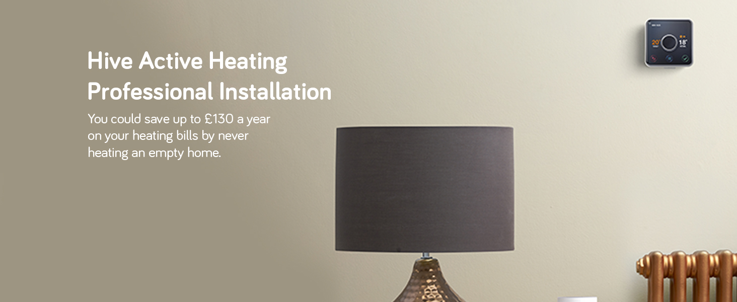 Hive Active Heating with Professional Installation