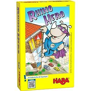 Haba - Juego de cartas Rhino Hero, 2 a 5 jugadores (4092): Amazon ...
