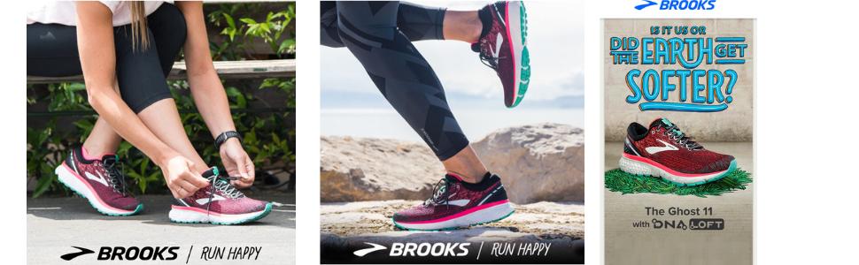 075efc14a32 Brooks Women s Ghost 11 Navy Grey Purple Rose Running Shoes-5 UK ...
