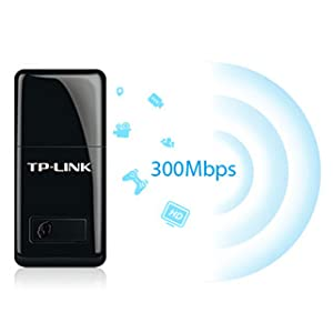 TP-LINK TL-WN823N 300 Mbps Mini Wireless and USB Adapter