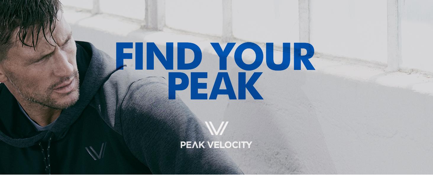 Brand Peak Velocity Mens Mid-Town Lightweight Tech Fleece Jogger