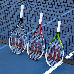 Buy Wilson US Open 25 Junior Tennis Racquet (Blue) Online at Low Prices in India - Amazon.in