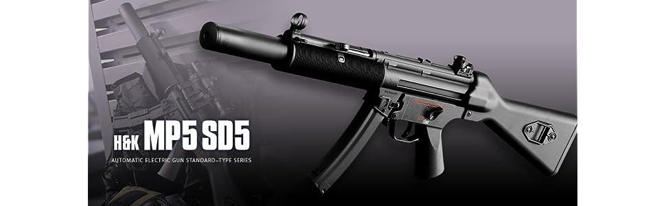 東京マルイ No.68 H&K MP5 SD5 18歳以上スタンダード電動ガン