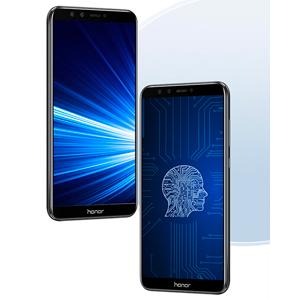 Honor 9 Lite Dual SIM - 32GB, 3GB RAM, 4G LTE, Sapphire Blue: Amazon com