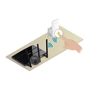 Tp-Link Re200 Ac750 Universal Dual Band Range Extender, Broadband/Wi-Fi Extender, Wi-Fi Booster