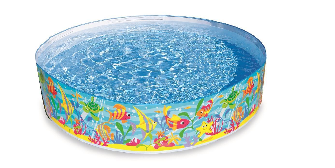 Intex baby piscina rigida 183 x 38 cm oceano - Amazon piscina bambini ...