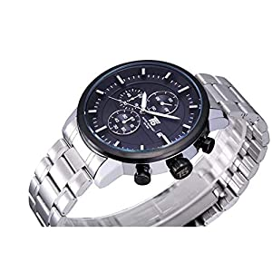 T5 Casual Watch for Men, Silver, H3451G-B