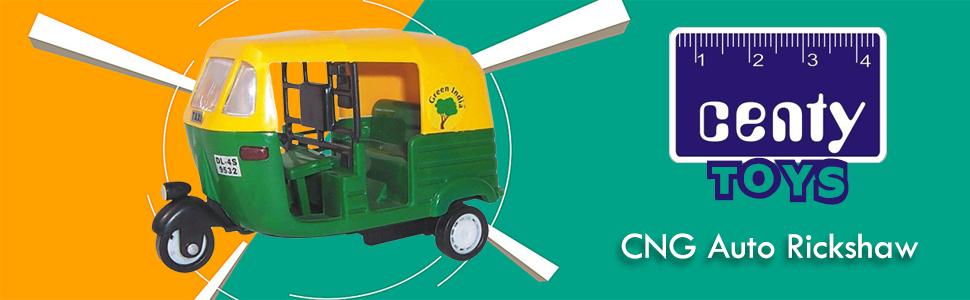 Centy Toys CNG Auto Rickshaw