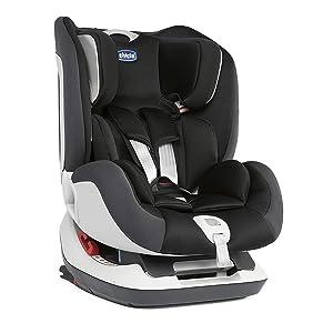 Chicco Seat Up 012, Silla de coche grupo 0+/1/2 Isofix, negro
