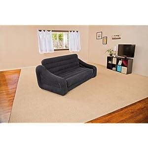 intex 68566np divano letto, 193x231x71 cm, colori assortiti ... - Divano Letto Matrimoniale A Poco Prezzo