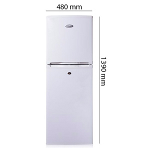 Super General 190 Liter Refrigerator, White - SG R198H