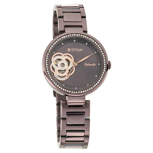 Titan Purple Self Expression Analog Dial Women's Watch