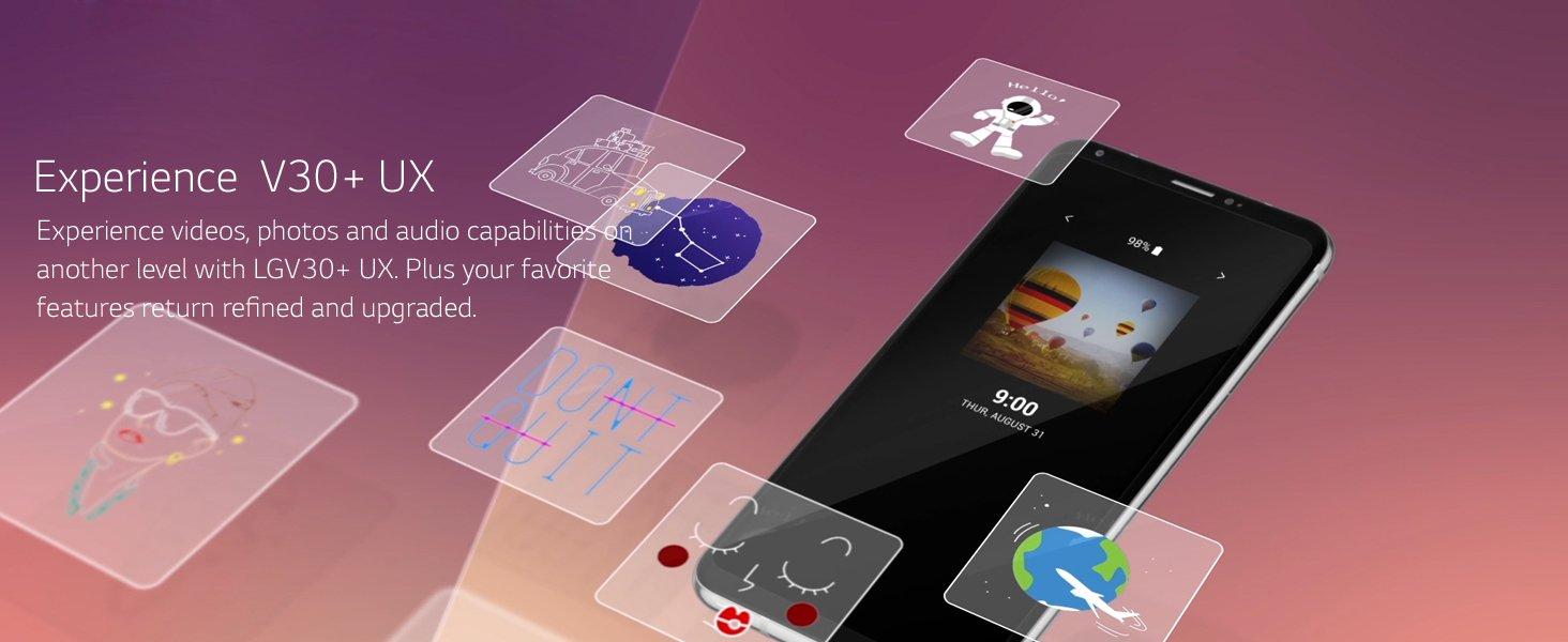 LG V30+ (18:9 OLED FullVisionTM, 128GB, Black): Amazon.in: Electronics