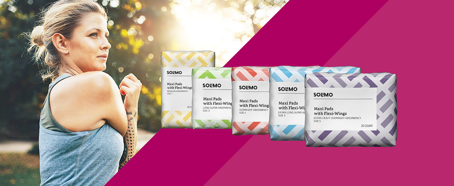 Solimo Maxi Pads