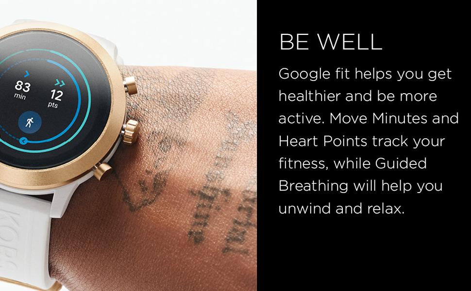 Michael Kors Gen 5 Bradshaw Women's Multicolor Dial Stainless Steel Digital Smartwatch - MKT5105