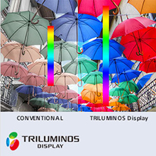 TRILUMINOS Display: Extra Colours, Extra Brilliance