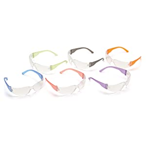 safety glasses, 12 pack, assorted colors, comfortable, safety