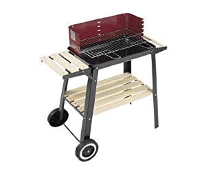 Landmann 0566 charcoal wagon barbecue mark garden outdoors - Barbecue landmann grill chef ...