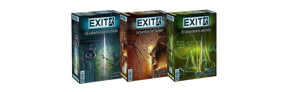 Devir - Exit: El laboratorio secreto, Ed. Español (BGEXIT3 ...