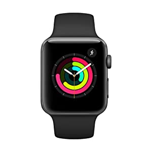 Apple Watch Series 3-42 mm, Space Gray Aluminum Case - MTF32LL/A
