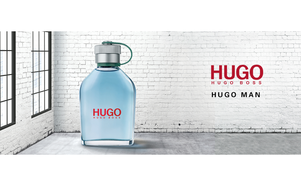 Hugo Boss Man Perfume for Men, Eau de Toilette, 125 ml