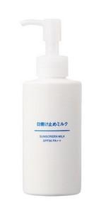MUJI Sunscreen Milk