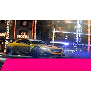 NFS Heat by EA for PS4