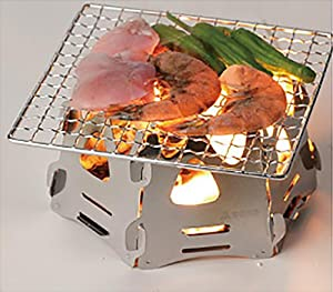 ソト(SOTO)ミニ焚き火台ヘキサ ST-942 炙り料理に