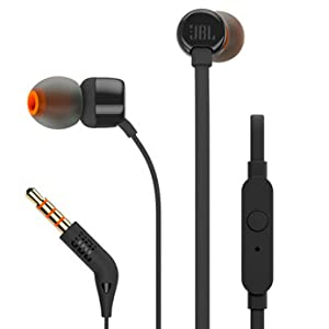 JBL Premium In-Ear headphones with mic, flat cord with universal remote