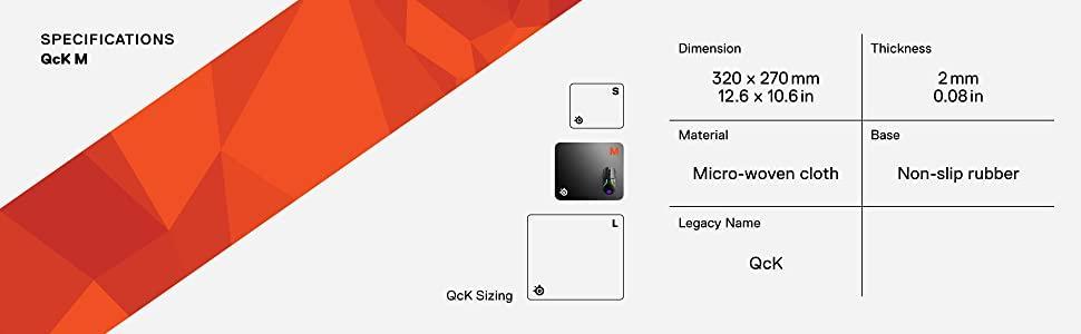 SteelSeries Gaming Mousepad