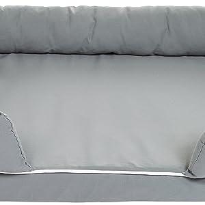 AmazonBasics - Sofá cama para mascotas, Pequeño: Amazon.es ...