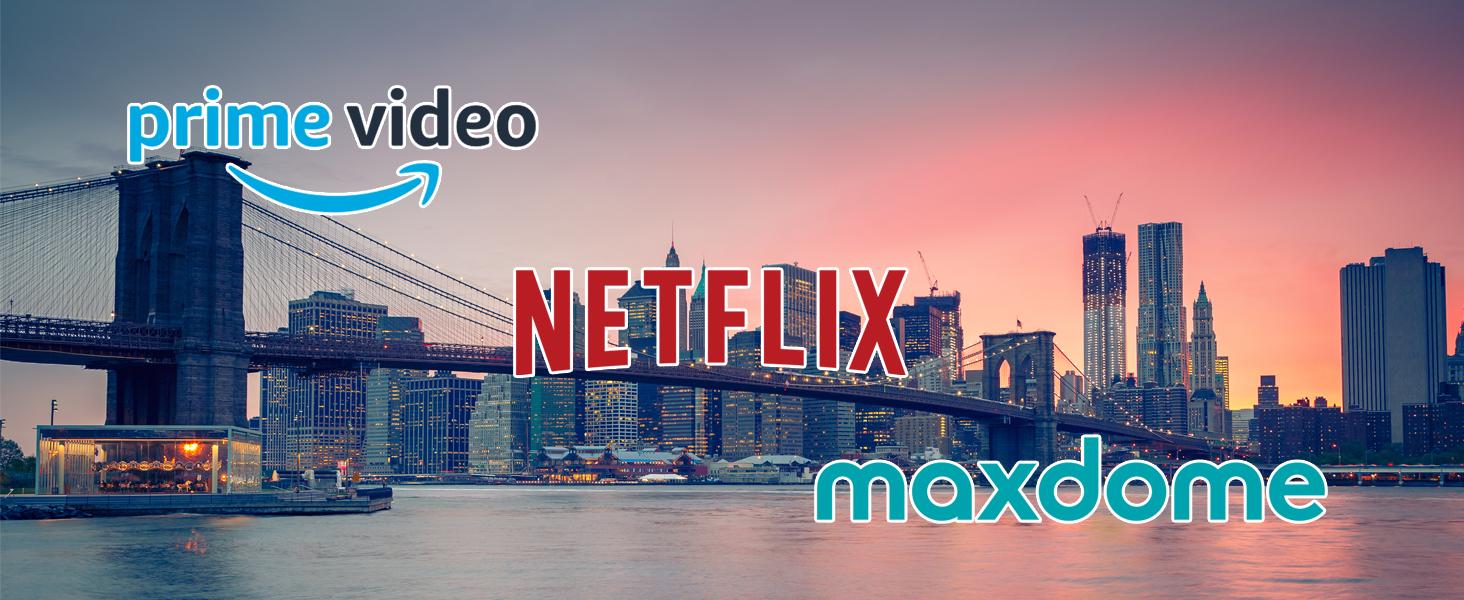 Prime Video Netflix maxdome Smart TV Apps