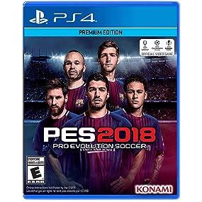 Amazon.com: Pro Evolution Soccer 2018 - PlayStation 4 ...