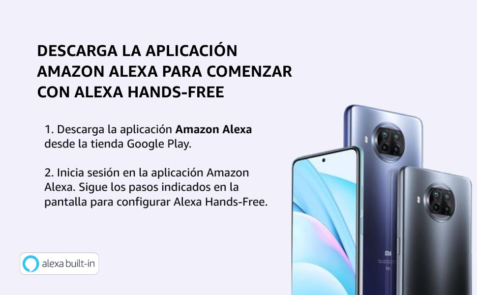 Descarga la aplicación Amazon Alexa para comenzar con Alexa Hands-Free