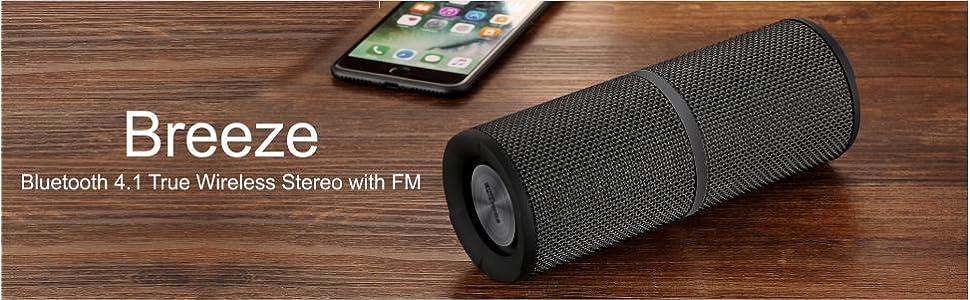 53e3452378c Portronics POR-795 Breeze Bluetooth 4.1 Wireless Stereo: Amazon.in ...