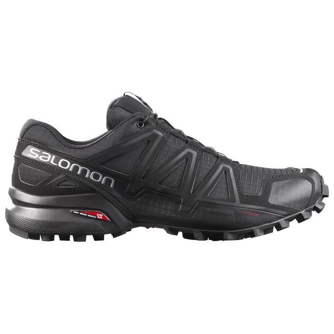 Salomon Men's Speedcross 4 Trail Running Shoe, Black