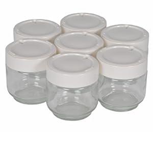 Moulinex A14A0 - Tarro para yogurt casero, libre de BPA, apto para ...