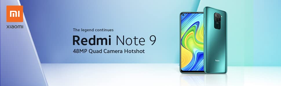 Xiaomi Redmi Note 9 Dual SIM Mobile