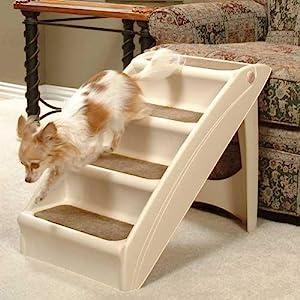 Solvit PupSTEP Plus Folding Plastic Pet Stairs