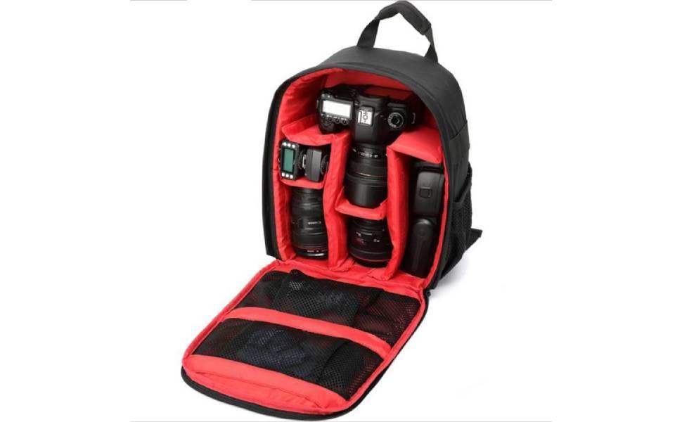 Single Lens Camera Bag Outdoor Shoulder Photo Packs Mini Backpack