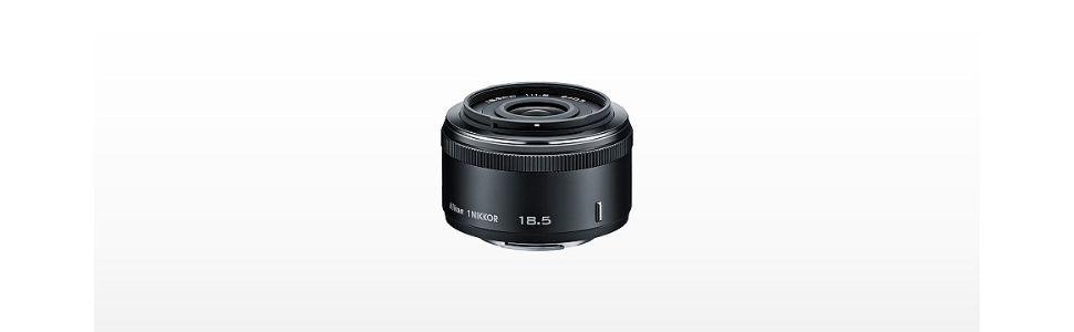 Nikon 単焦点レンズ 1 NIKKOR 18.5mm f/1.8  ホワイト ニコンCXフォーマット専用