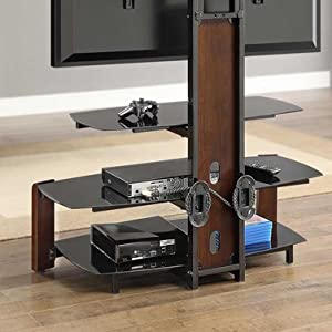 Whalen Furniture Flat Panel Tv Stand And Entertainment Console 41 Inch